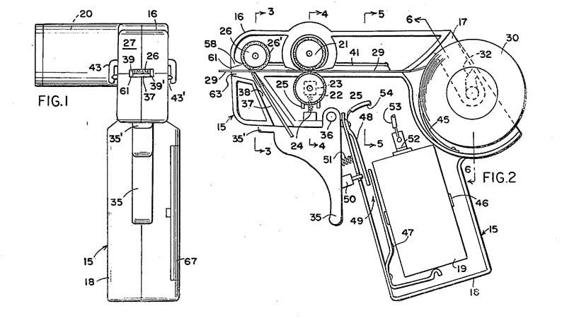 Tinsel-gun